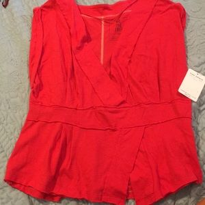 Red free people T-shirt's